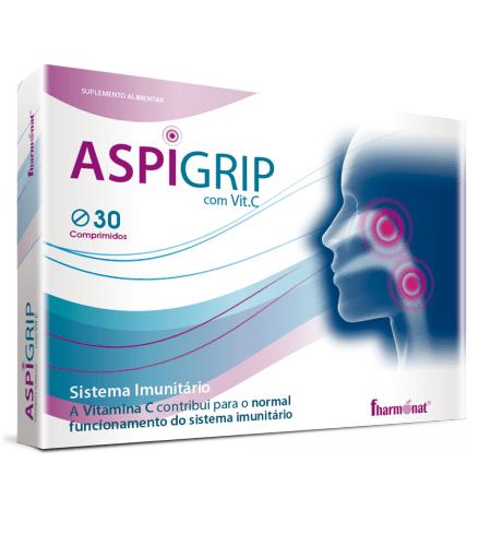 ASPIGRIP 30 Comprimidos - Fharmonat