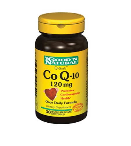 Co Q-10 - cápsulas - Good'N Natural
