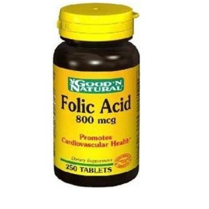 FOLIC ACID - Good'N Natural