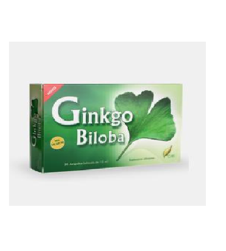 GINKGO BILOBA AMPOLAS - CHI