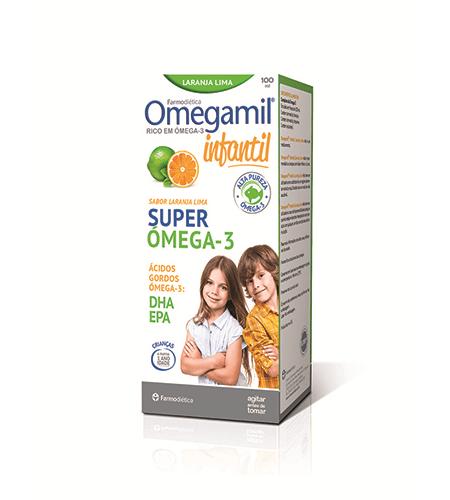 OMEGAMIL Infantil Xarope 100ml - Farmodietica