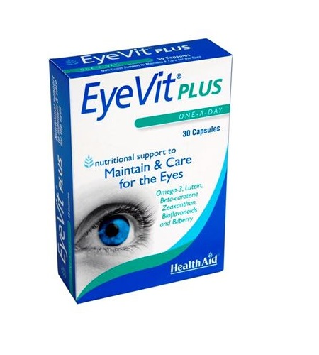 EYE VIT PLUS Cápsulas - Health Aid