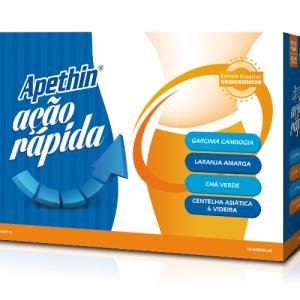 APETHIN AÇÃO RAPIDA 30 Ampolas - Farmodietica