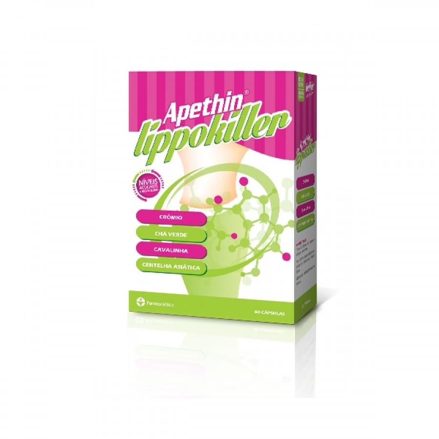 APETHIN LIPPO KILLER 60 Cápsulas - Farmodietica