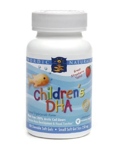 Children's DHA capsulas - Nordic Naturals