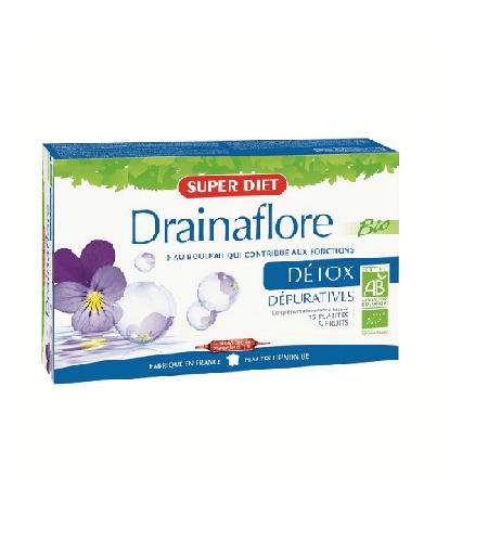 Drainaflore Ampolas - Super Diet