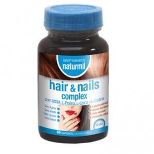 HAIR & NAILS 60 Comprimidos - Naturmil