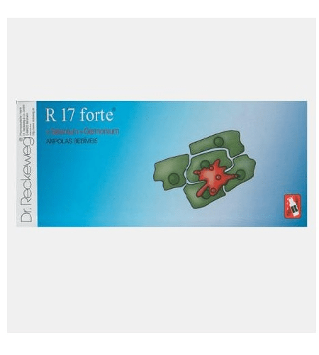 R17 FORTE AMPOLAS - DR. RECKEWEG