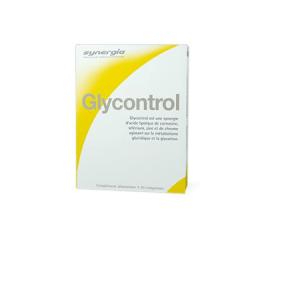 Glycontrol Comprimidos - Synergia - Panfarma