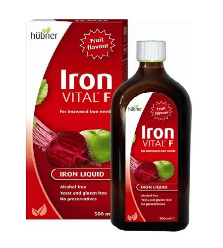 Iron Vital F Xarope 250ml - hubner