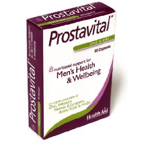 Prostavital 30 capsulas - Health Aid