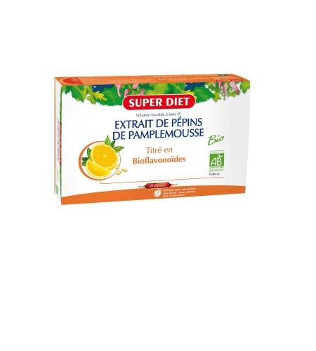 Extrait de Pepins de Pamplemousse Ampolas - Super Diet