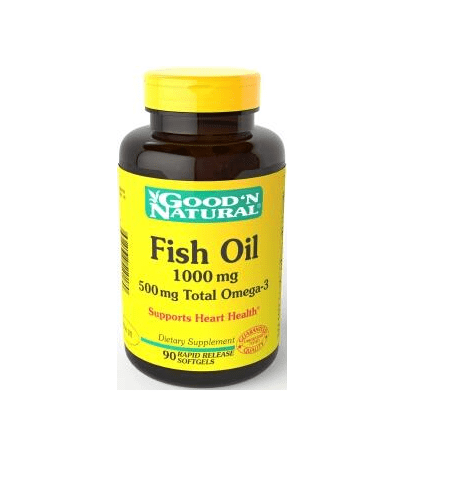 Fish Oil Cápsulas - Good'N Natural