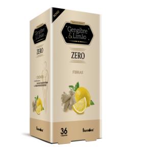 GENGIBRE & LIMAO ZERO 36 Capsulas - Fharmonat