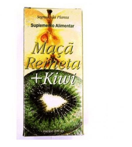 Maça Reineta + Kiwi Xarope - Segredo da Planta