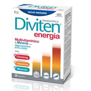 Diviten Vitaminas e Energia Comprimidos - Farmodietica