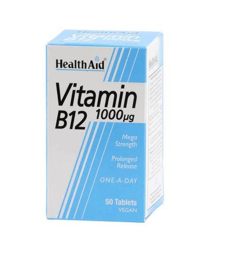 VITAMIN B12 Comprimidos - Health Aid