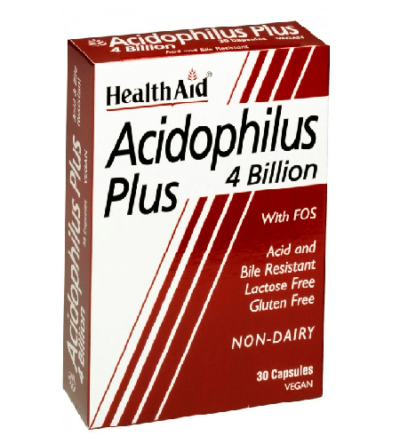 ACIDOPHILUS PLUS Cápsulas - Health Aid