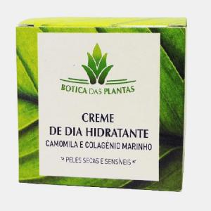 CREME DE DIA HIDRATANTE (Peles secas e sensiveis) - Botica das Plantas
