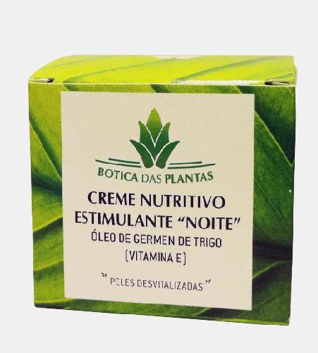 CREME NUTRITIVO E ESTIMULANTE NOITE - Botica das Plantas