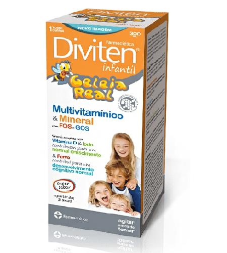 DIVITEN INFANTIL GELEIA REAL Xarope 300ml – Farmodietica