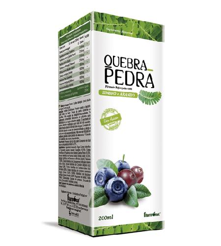 QUEBRA PEDRA Xarope 200ml – Fharmonat