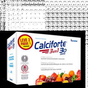 CALCIFORTE 3 EM 1 – LEVE 2 PAGUE 1 Fharmonat