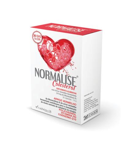NORMALISE Colesterol 30 Capsulas – Calêndula