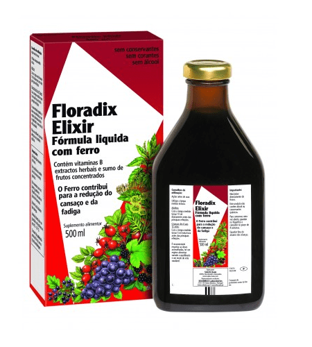 FLORADIX COM FERRO Xarope 500ml – Salus