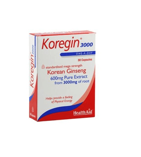 KOREGIN 3000 (Korean Ginseng)