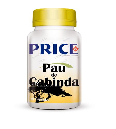 PAU DE CABINDA 30 Cápsulas – Fharmonat