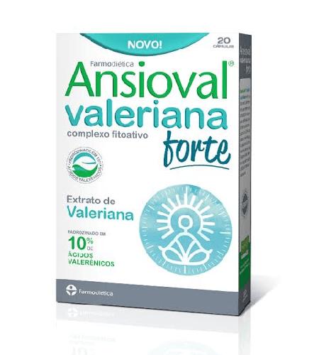 ANSIOVAL VALERIANA Forte 20 Cápsulas – Farmodietica