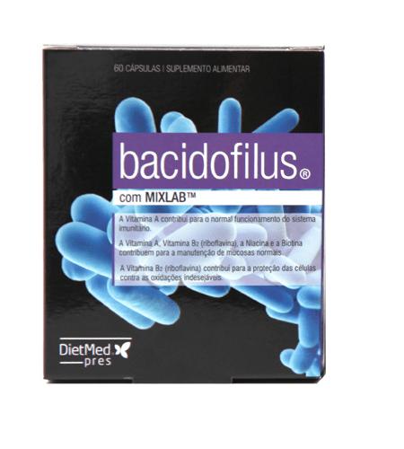 BACIDOFILUS 60 Cápsulas – Dietmed