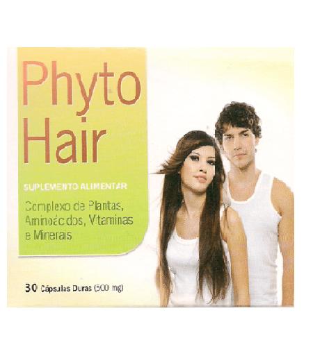 PHYTO HAIR 30 Cápsulas - Segredo da Planta