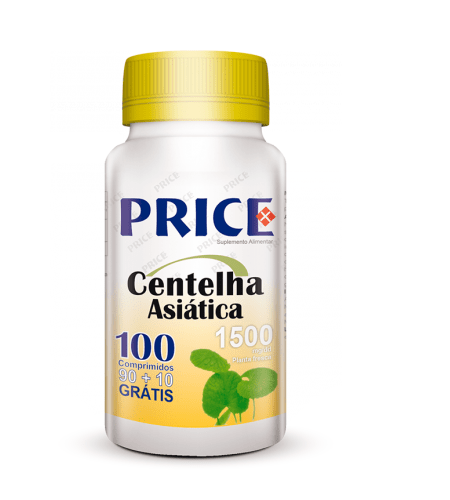 CENTELHA ASIATICA Price 100 Comprimidos - Fharmonat