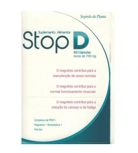 STOP D 60 Cápsulas - Segredo da Planta
