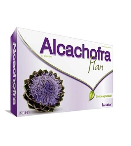 ALCACHOFRA PLAN 20 AMPOLAS - Fharmonat
