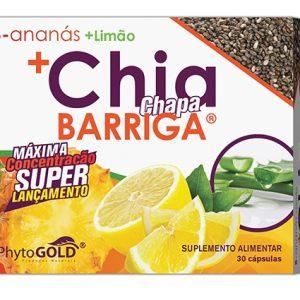 CHIA CHAPA BARRIGA 30 Cápsulas PhytoGold