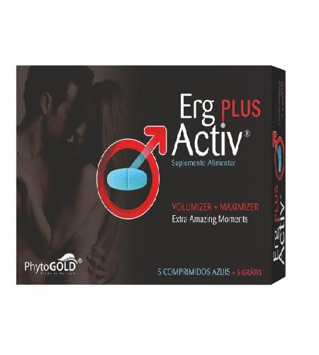 ERG ACTIV PLUS 5 Comprimidos + 5 de Oferta - PhytoGold