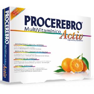 PROCEREBRO MULTIVIMAMINICO ACTIV 30 Cápsulas - Fharmonat