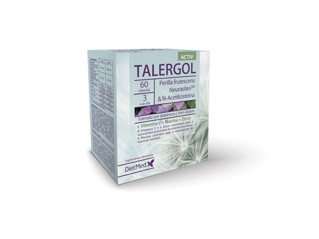 TALERGOL 60 CAPSULAS - Dietmed