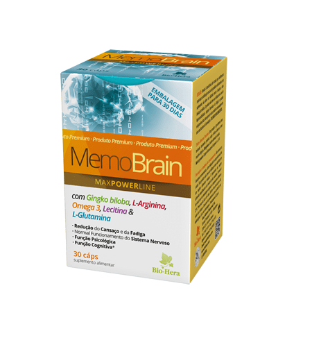 MEMO BRAIN 30 Cápsulas - Bio-Hera
