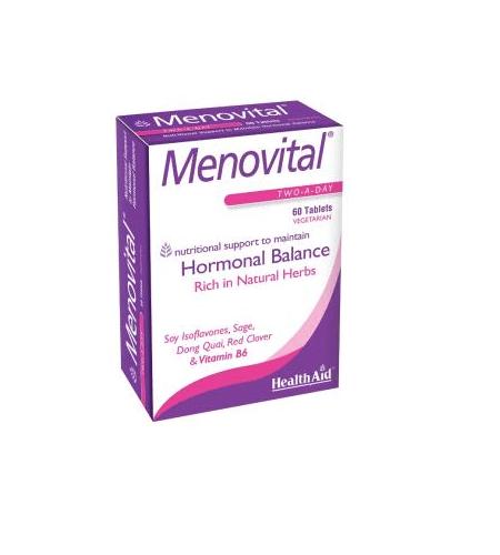MENOVITAL 60 Cápsulas - Health Aid