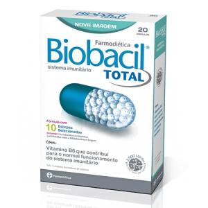 BIOBACIL TOTAL 20 Cápsulas - Farmodiética
