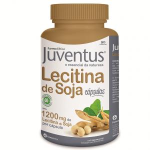 LECITINA DE SOJA JUVENTUS 90 Cápsulas - Farmodiética