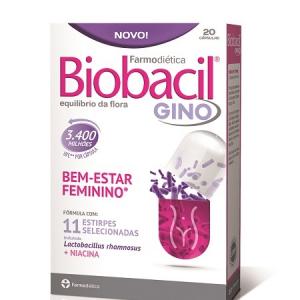 BIOBACIL GINO 20 Cápsulas Kit 2 Unidades - Farmodietica