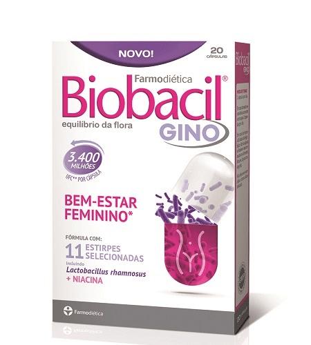 BIOBACIL GINO 20 Cápsulas - Farmodietica