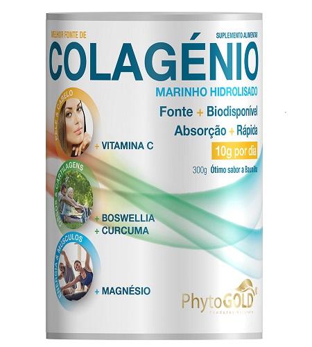 Colagénio Marinho Hidrolisado 300g - Phytogold