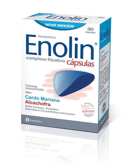 ENOLIN 30 Cápsulas - Farmodiética