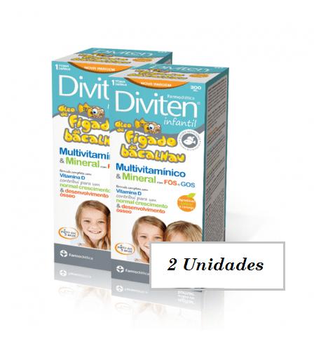 DIVITEN Infantil Kit 2 Unidades - Farmodietica
